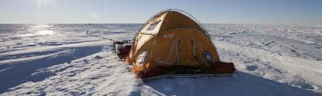 Un viaje con 2.000 kilos a bordo impulsados por el viento polar