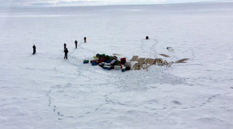 Científicos de EEUU, con la expedición Cumbre de Hielo