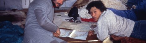 La familia ártica del 'conquistador' negro del Polo Norte