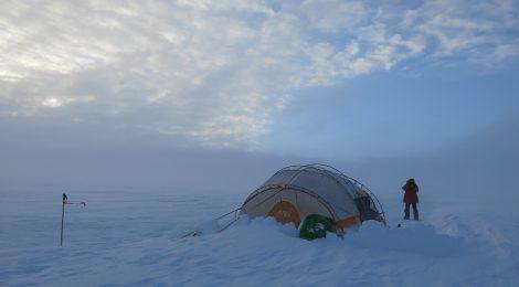 La primera estación meteorológica móvil polar
