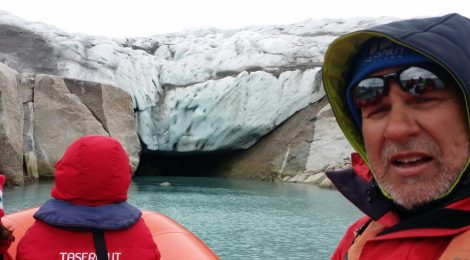 El glaciar Qaleraliq ha retrocedido más de 200 metros en un año
