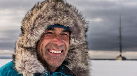 El explorador Mike Horn, premio de la SGE 2017