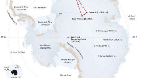 """Expedición 'Antártida Inexplorada 2018"""""""