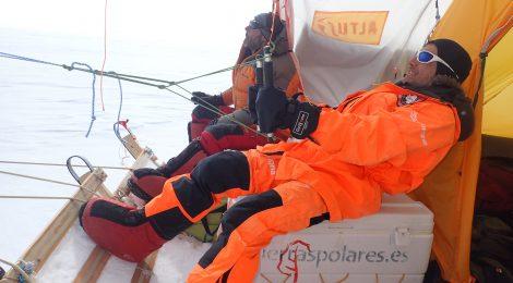 La expedición Antártida Inexplorada, en el Domo Fuji