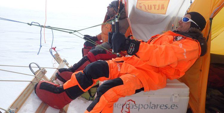 ¡ Hemos subido al Domo Fuji de la Antártida!
