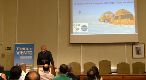 """1º Simposio Científico del Trineo de Viento: """"Una oportunidad internacional"""""""