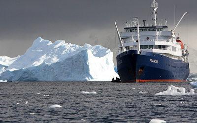 Los mejores cruceros en la Antártida y el Ártico