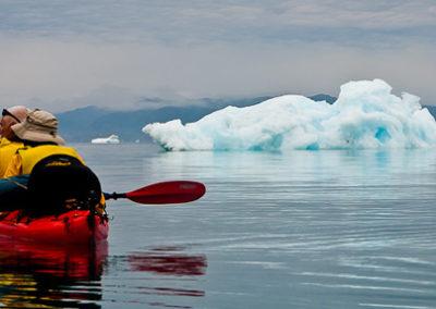 Groenlandia kayak y trekking icebergs