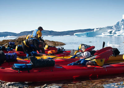 viaje a Groenlandia kayak y trekking