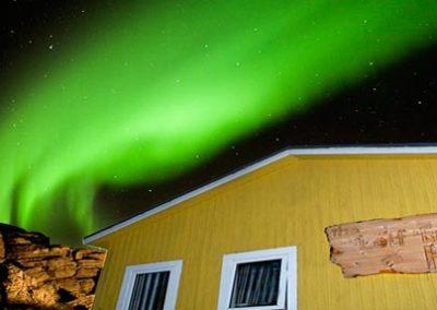 Groenlandia aventura inuit aurora boreal hostel Leif Ericksson Tierras Polares