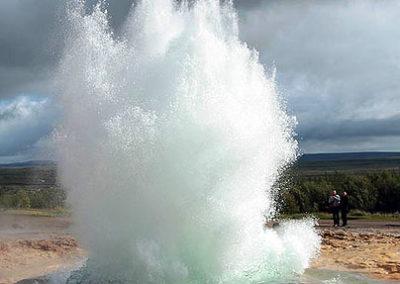 Islandia-geysir geiser