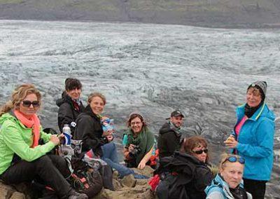 Islandia-trekking grupo