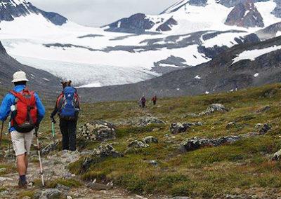 Jotunheimen-trekking-glaciar