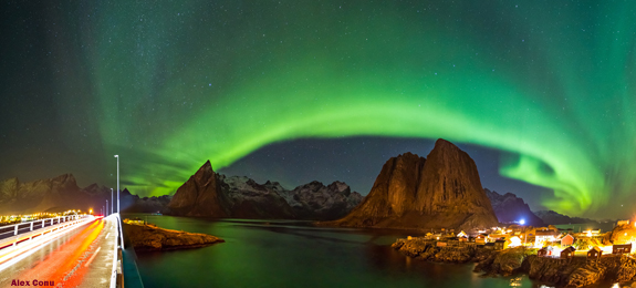 Lofoten-ver-auroras-boreales-noruega tierras polares
