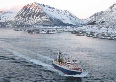 barco lofoten noruega