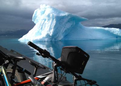 Transporte de bicicletas en Groenlandia