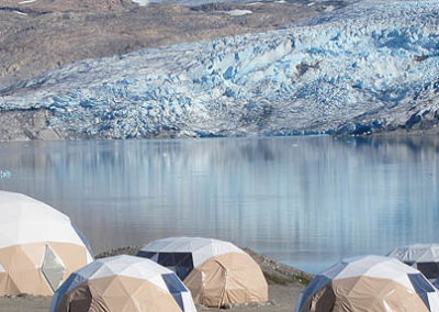 groenlandia campamento fletanes tierras polares