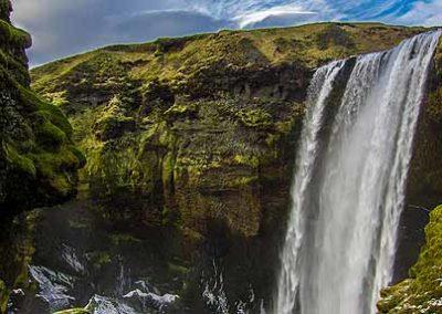 islandia-cascada Skogafoss