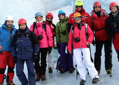 islandia-glaciar paseo crampones