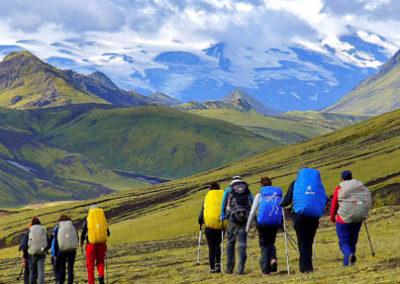 Islandia trekking Landmannalaugar