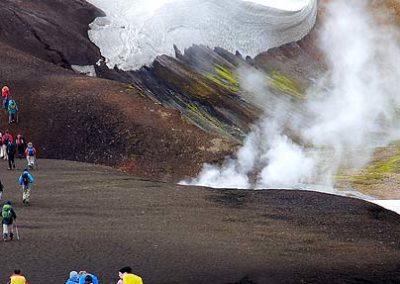Trekking landmannalaugar Islandia