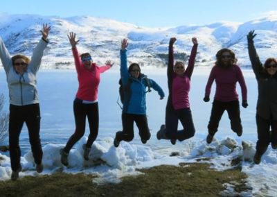 noruega invierno grupo tierras polares