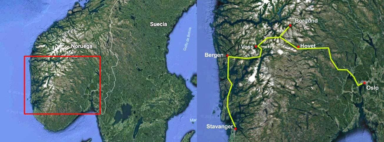 Fiordos Lagos Y Montanas Viaje A Los Fiordos Noruegos Tierras