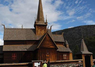 noruega iglesia stavkirke