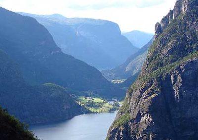 Noruega fiordos tierras polares