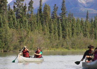 Alaska canoa