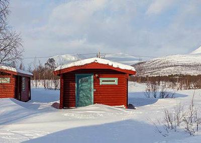 Cabañas en Abisko-suecia