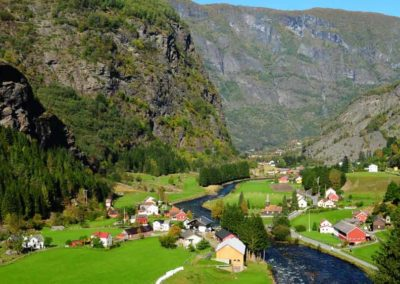 Flaemsdalen-noruega tierras polares