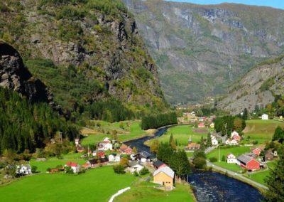 Flaemsdalen-noruega