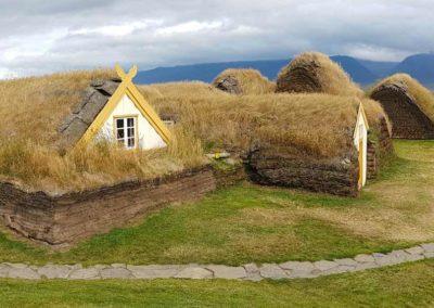 Glaumbër-Islandia casas vikingos