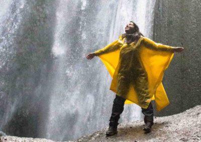 Glúfrafoss-sur-Islandia cascada escondida