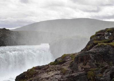 Godafoss-Islandia cascada