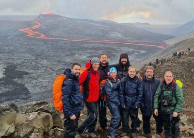 ecursion volcan fagradalsfjall islandia