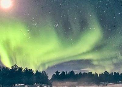 aurora-boreal-finlandia tierras polares