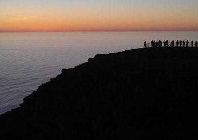 cabo-norte-viaje noruega atardecer sol de media noche