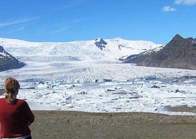 islandia icebergs glaciar