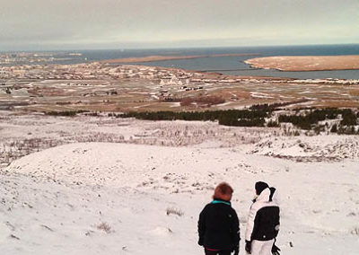 islandia-reykjavik invierno nieve