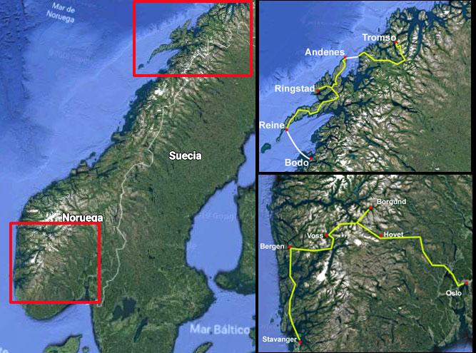 Maravillas De Noruega Tierras Polares