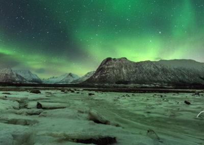 taller fotografia auroras boreales lofoten noruega tierras polares