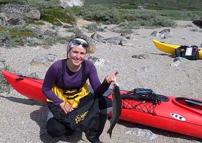 kayak tasermiut pesca