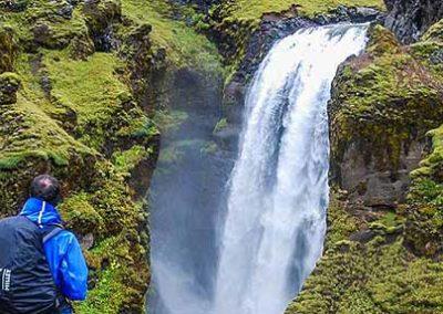 trekking-islandia cascada