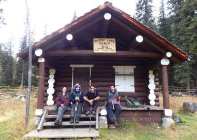 Cabaña en Montañas Rocosas canadienses