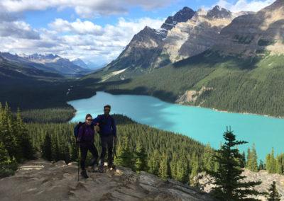 Trekking en Canadá. Montañas Rocosas