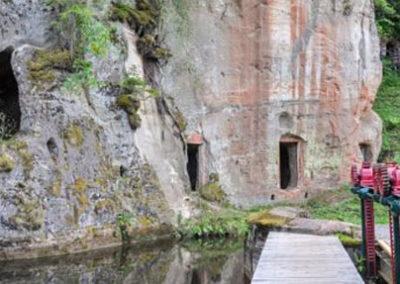 Cuevas de Ligatne en Letonia