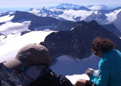 Galdhopiggen-trekking-noruega