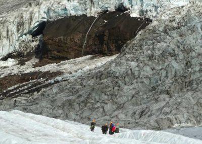 Trekking en glaciar en Islandia, circuito con vuelo y hotel